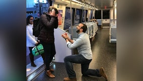 DC love story: Local couple finds love on the Metro