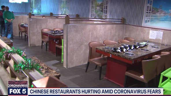 Chinese restaurants owners pin downturn in business on coronavirus fears