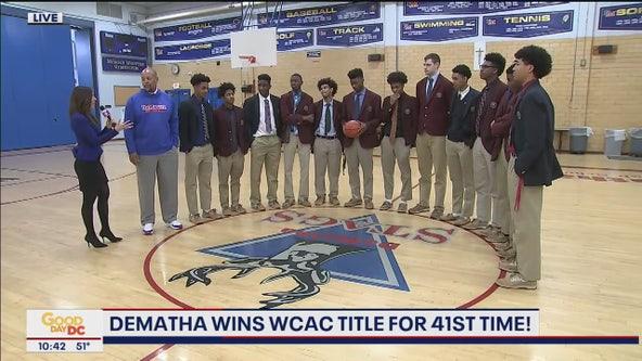 DeMatha basketball wins 41st WCAC title