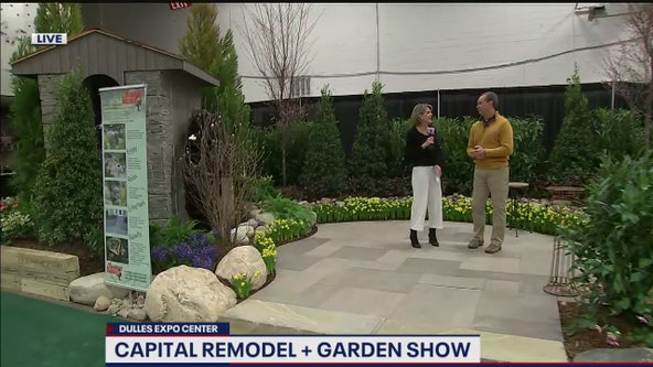 Checking out the fun at the Capital Remodel and Garden Show