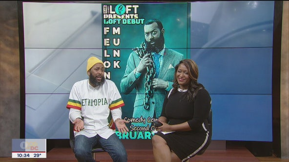 Comedian and actor Felonious Munk stops by FOX 5