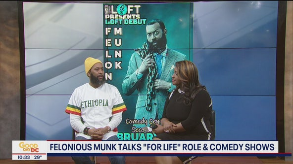 """Felonious Munk discusses his role on """"For Life"""" and his comedy shows"""