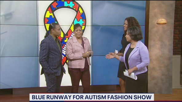 Blue Runway for Autism Fashion Show helps promote positive self-image for kids with special needs