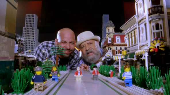 Meet some of the dynamic duos competing for brickbuilding glory on 'LEGO Masters'