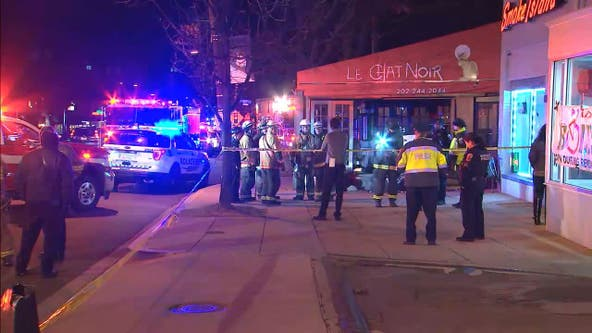 Video: Driver makes it out without a scratch after car crashes into Northwest DC restaurant