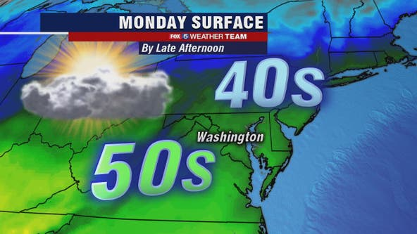 Cool, dry Presidents Day with temperatures in the 50s