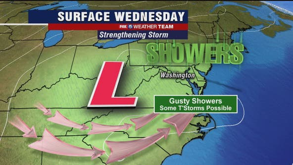 Dense fog Wednesday morning; evening rain, thunderstorms possible