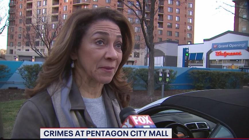Crimes at Pentagon City mall