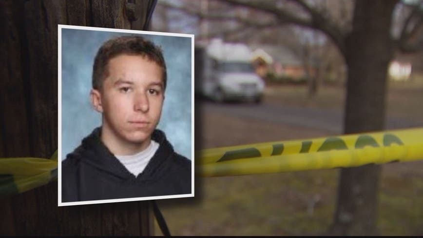Father of teen accused of killing mother and brother says he was 'ambushed' by a 'monster'