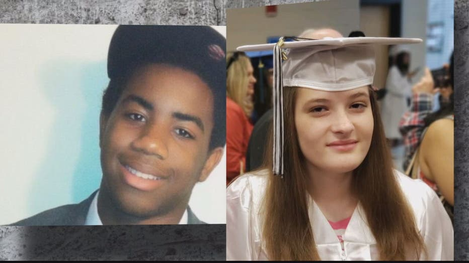 Joel Bianda, 21, and Ayanna Griffin, 19