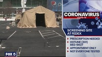 COVID-19 screening site to open at FedEx Field on Monday