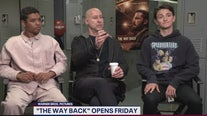 Director and stars of new film The Way Back
