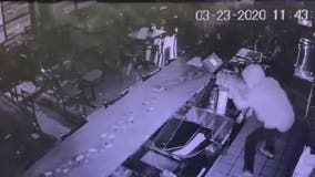 CAUGHT ON CAMERA: Two DC restaurants robbed in single night, police say