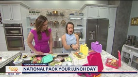 Lunch box creations for National Pack Your Lunch Day