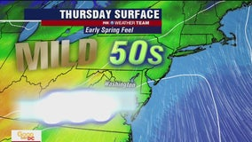 FOX 5 Weather afternoon forecast for Thursday, March 26