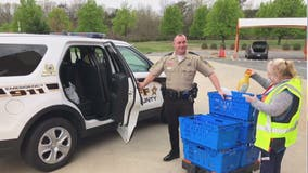 Stafford County deputies deliver medication, essential items to the elderly during COVID-19 pandemic