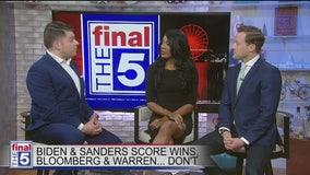 Dems react as Biden wins big, shaping showdown with Sanders