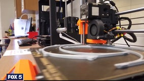 3D printers used to produce medical supplies amid coronavirus outbreak