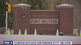 Curfew in place for minors at Fort Belvoir