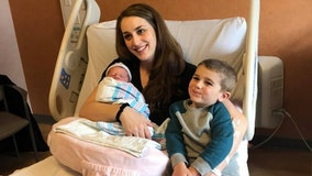 'No way': Mom has second baby on leap day after first child also born Feb. 29