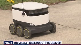 DC market uses robots to deliver groceries