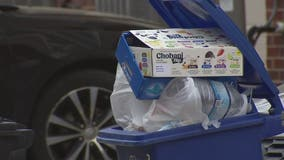 Trash and recycling services across the DC region want you to press pause on spring cleaning
