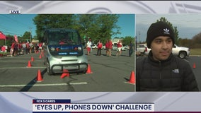 'Eyes Up, Phones Down' challenge