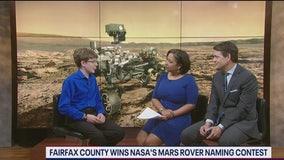 Fairfax Co student wins NASA Mars Rover naming contest