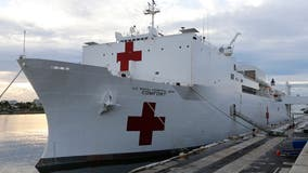 Navy hospital ship to come to New York Harbor