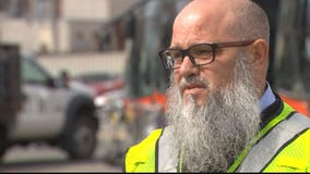Video: Metro bus driver tearfully recalls moment he saved taxi driver's life