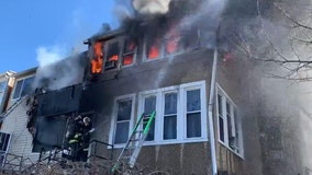Two homes catch fire in Northwest D.C.