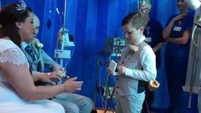 Hospital organizes beautiful wedding ceremony for patient waiting on heart transplant