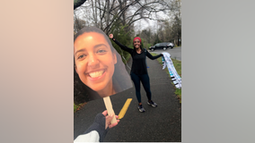 Her first marathon got canceled because of coronavirus. So she ran one by herself on the Mount Vernon Trail