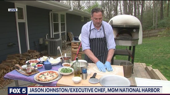 Cooking pizza at home with Chef Jason Johnston