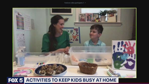 Activities to help keep kids busy at home