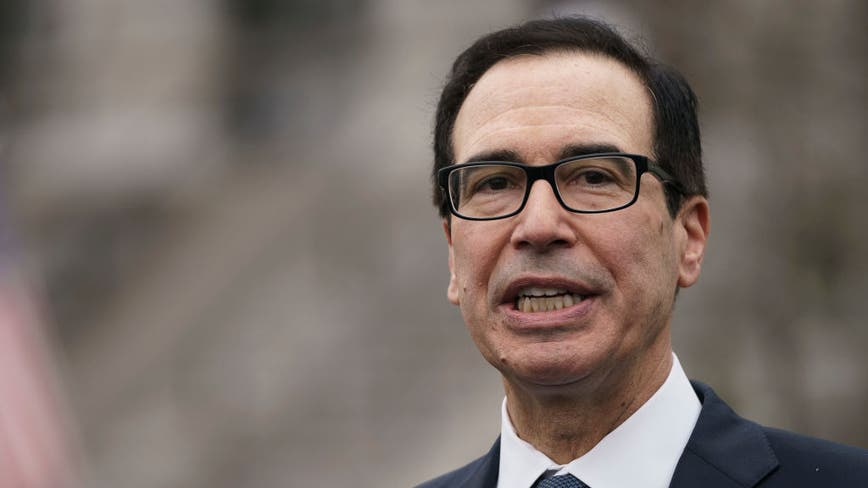 Mnuchin lays out when Americans can expect their coronavirus rescue package checks