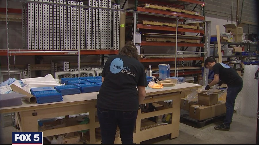 Maryland company makes masks for health care professionals during COVID-19 pandemic