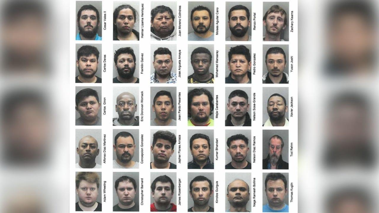 Arrested on omegle man 34 men