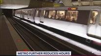 Metro further reduces service hours amid coronavirus pandemic
