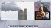 Environmental impact of the coronavirus