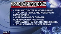 Nursing home reporting coronavirus cases