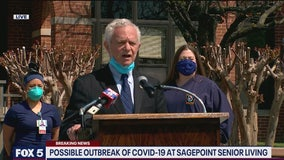 'Unavoidable' some nursing home residents will contract COVID-19, says MD health official after report of Sagepoint outbreak
