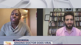 Doctor Elvis Francois chats with FOX 5 about his viral video that raised spirits amid coronavirus outbreak
