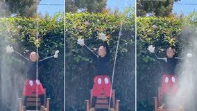 California family, missing Disney, puts on a 'Fantasmic!' show in backyard