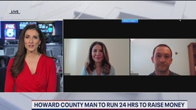 Howard County man to run 24 hours to raise money for food bank