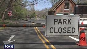 Parking lots closed at local parks to minimize crowds amid COVID-19 pandemic
