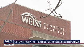 Chicago hospital successfully treats struggling COVID-19 patient with plasma from virus survivor