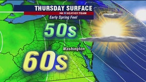 FOX 5 Weather forecast for Thursday, April 2