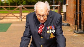 WWII veteran who raised millions for UK health service to be knighted