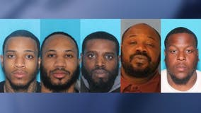 5 charged in Spotsylvania County triple murder